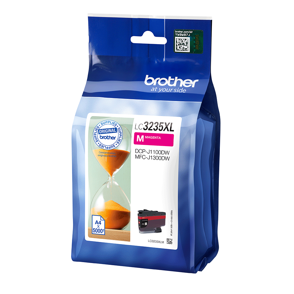 Genuine Brother LC3235XLM Ink Cartridge - Magenta 2