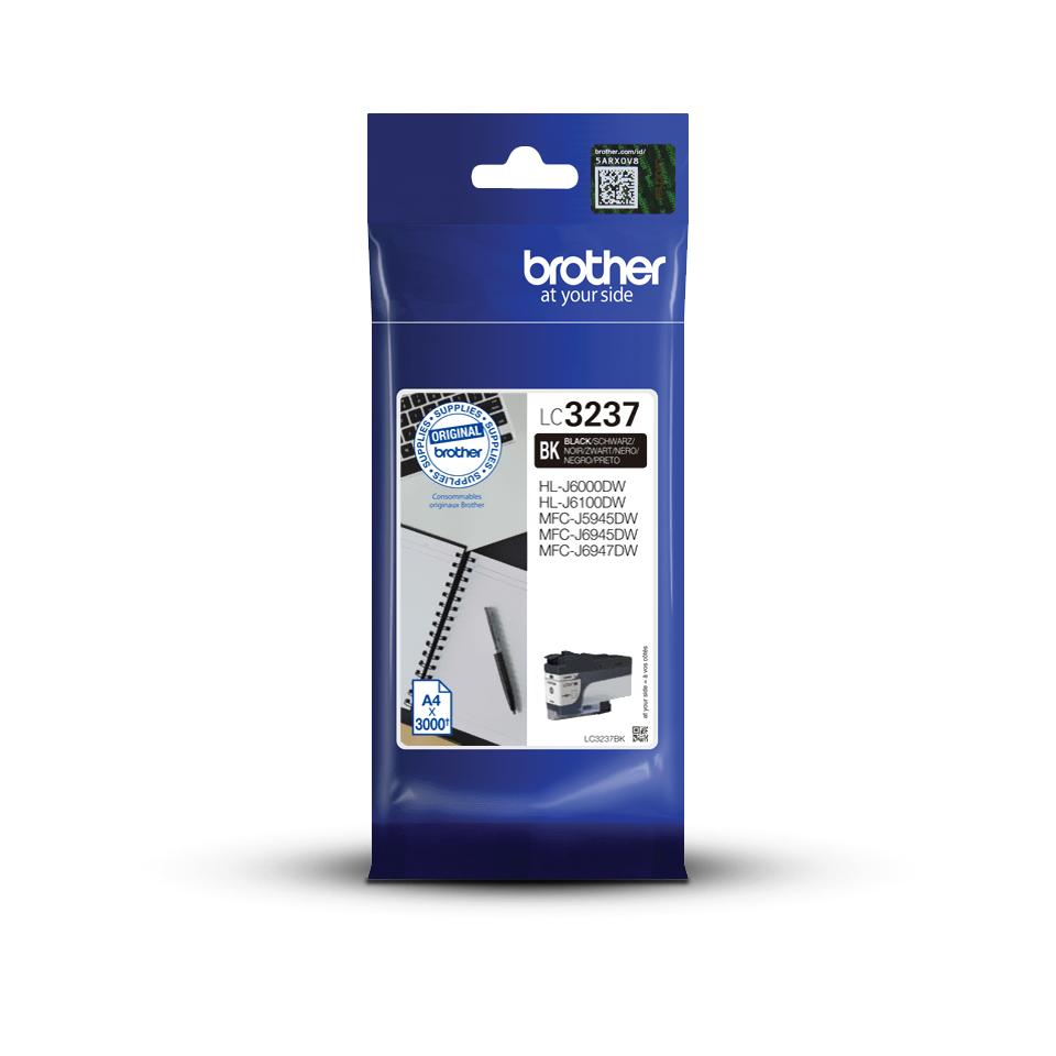 Genuine Brother LC3237BK Ink Cartridge – Black