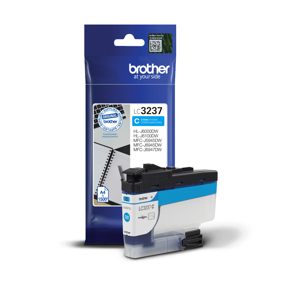 Genuine Brother LC3237C Ink Cartridge – Cyan 2