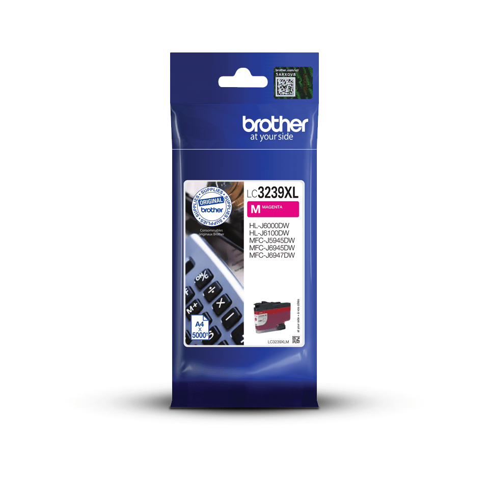 Genuine Brother LC3239XLM High-yield Ink Cartridge – Magenta