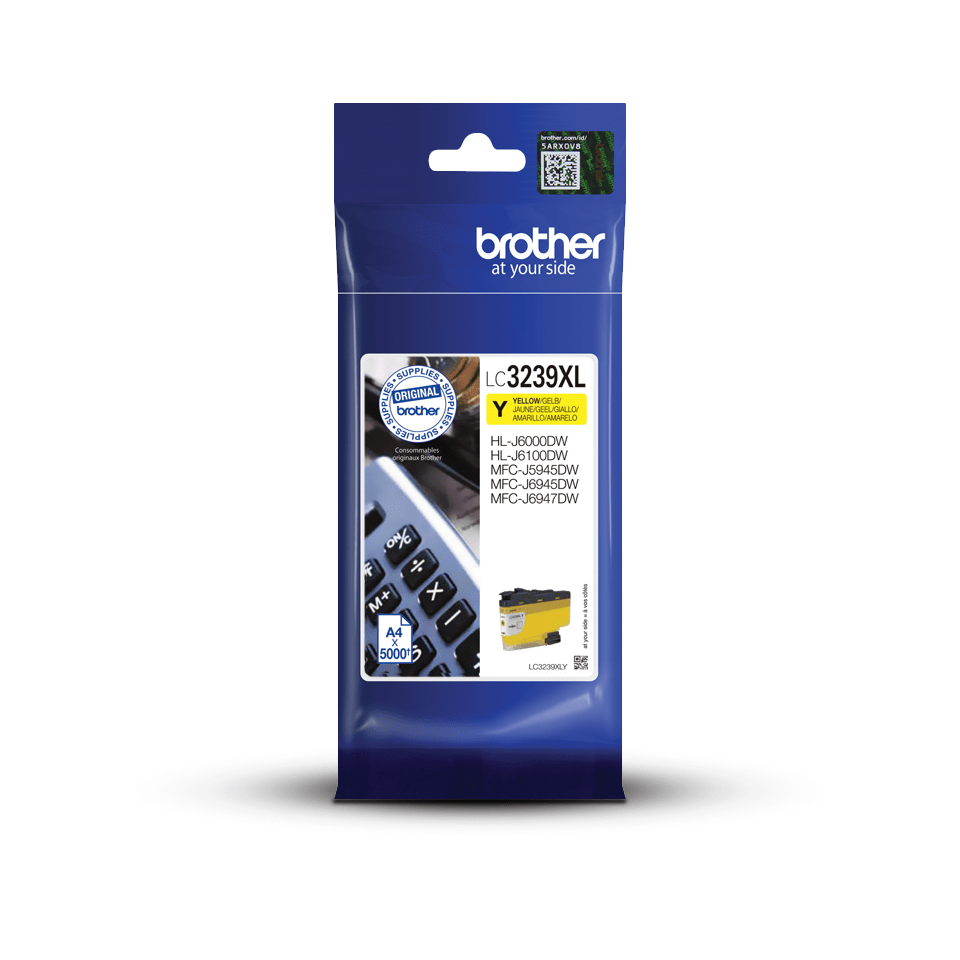 Genuine Brother LC3239XLY High-yield Ink Cartridge – Yellow 3