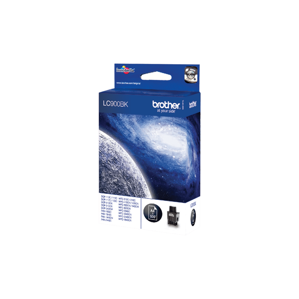 Genuine Brother LC900BK Ink Cartridge – Black 2