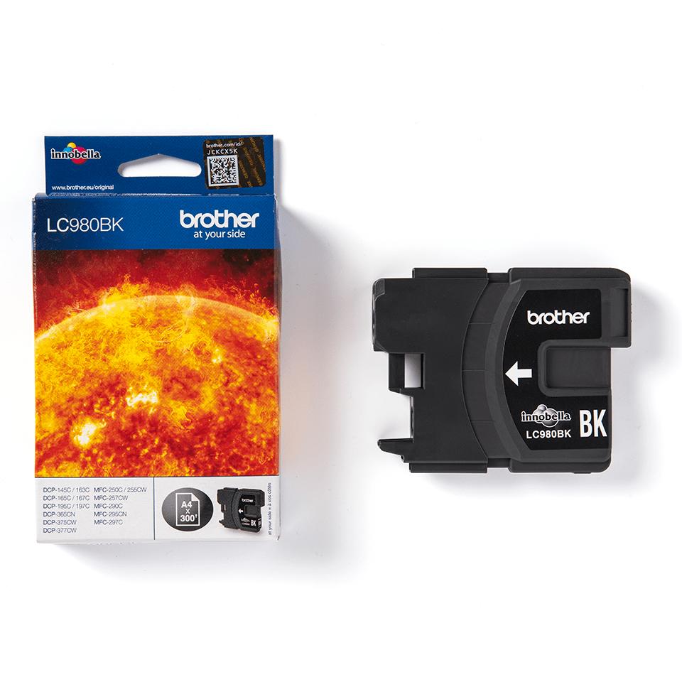 Genuine Brother LC980BK Ink Cartridge – Black 3