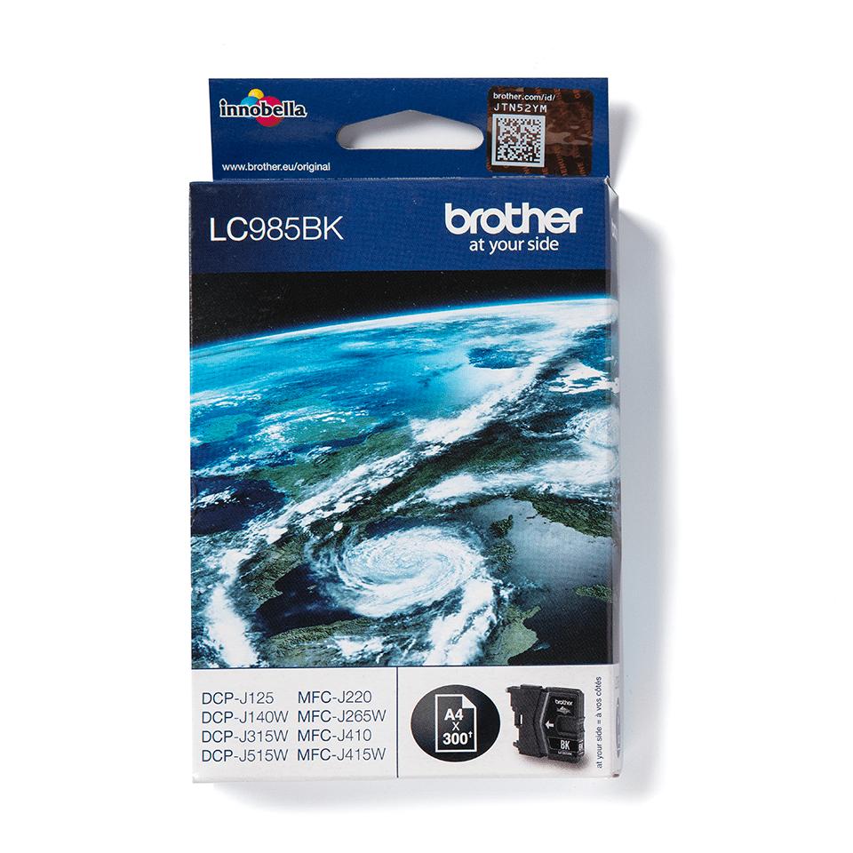 Genuine Brother LC985BK Ink Cartridge – Black