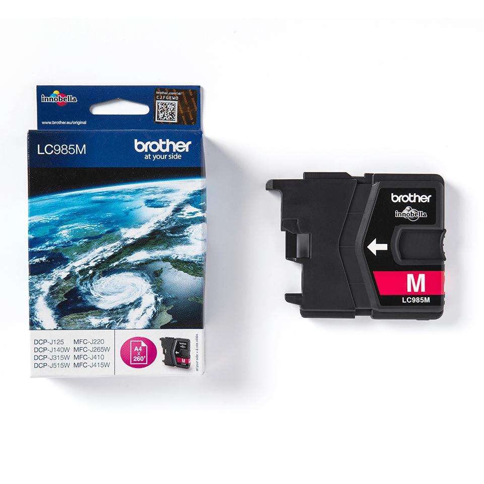 Genuine Brother LC985M Ink Cartridge – Magenta 2