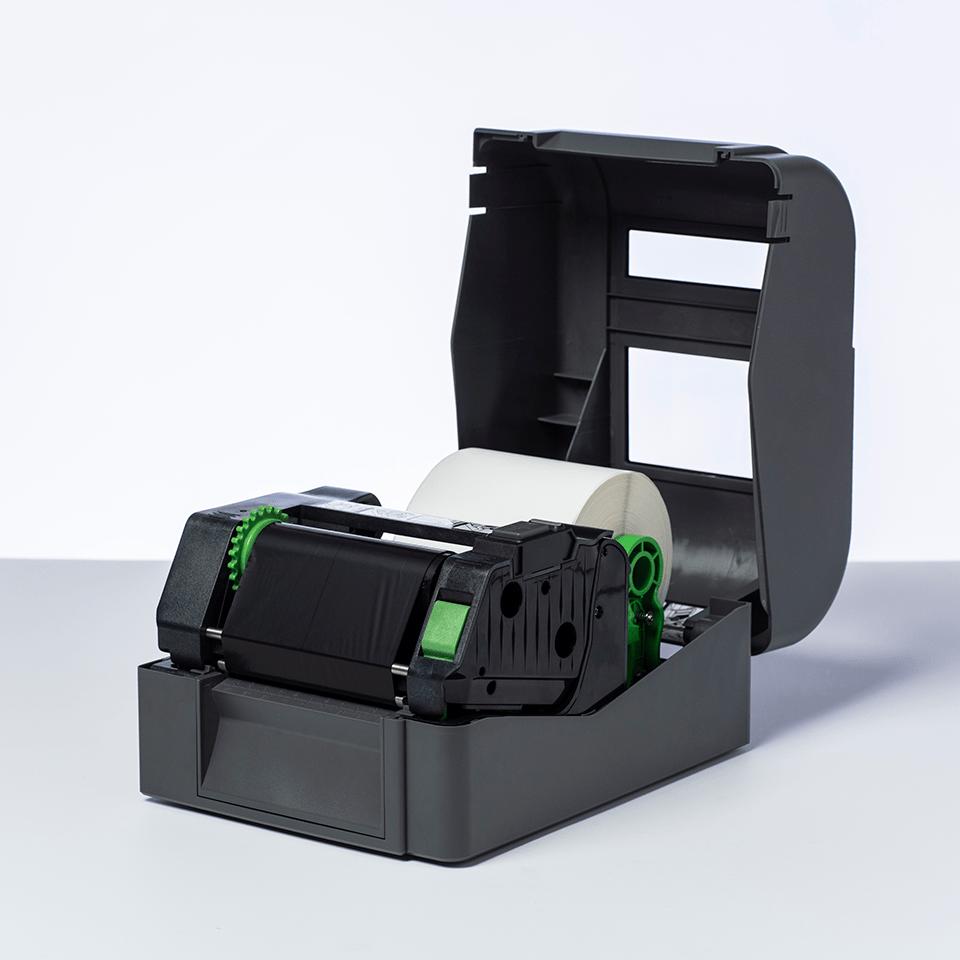 Standard Wax Thermal Transfer Black Ink Ribbon BWS-1D300-110 2