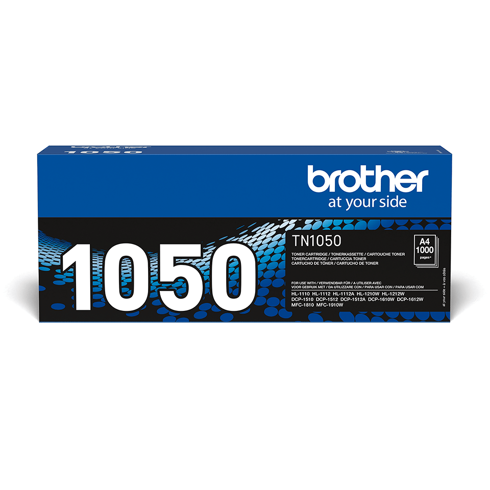 Genuine Brother TN-1050 Toner Cartridge – Black