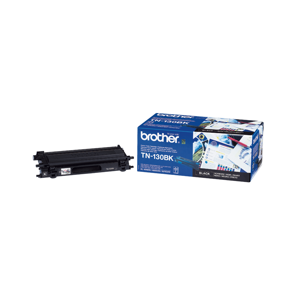 Genuine Brother TN-130BK Toner Cartridge – Black