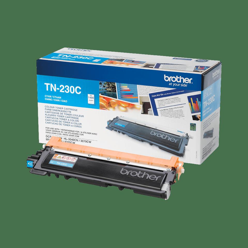 Genuine Brother TN-230C Toner Cartridge – Cyan