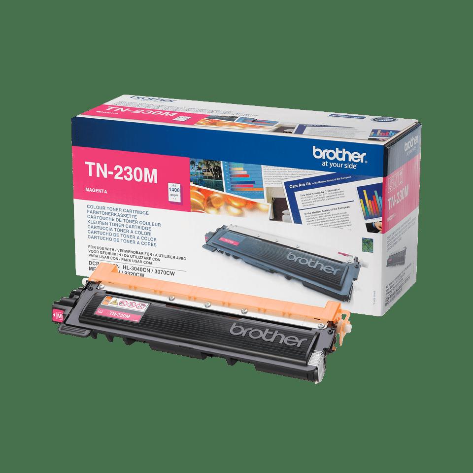 Genuine Brother TN-230M Toner Cartridge – Magenta