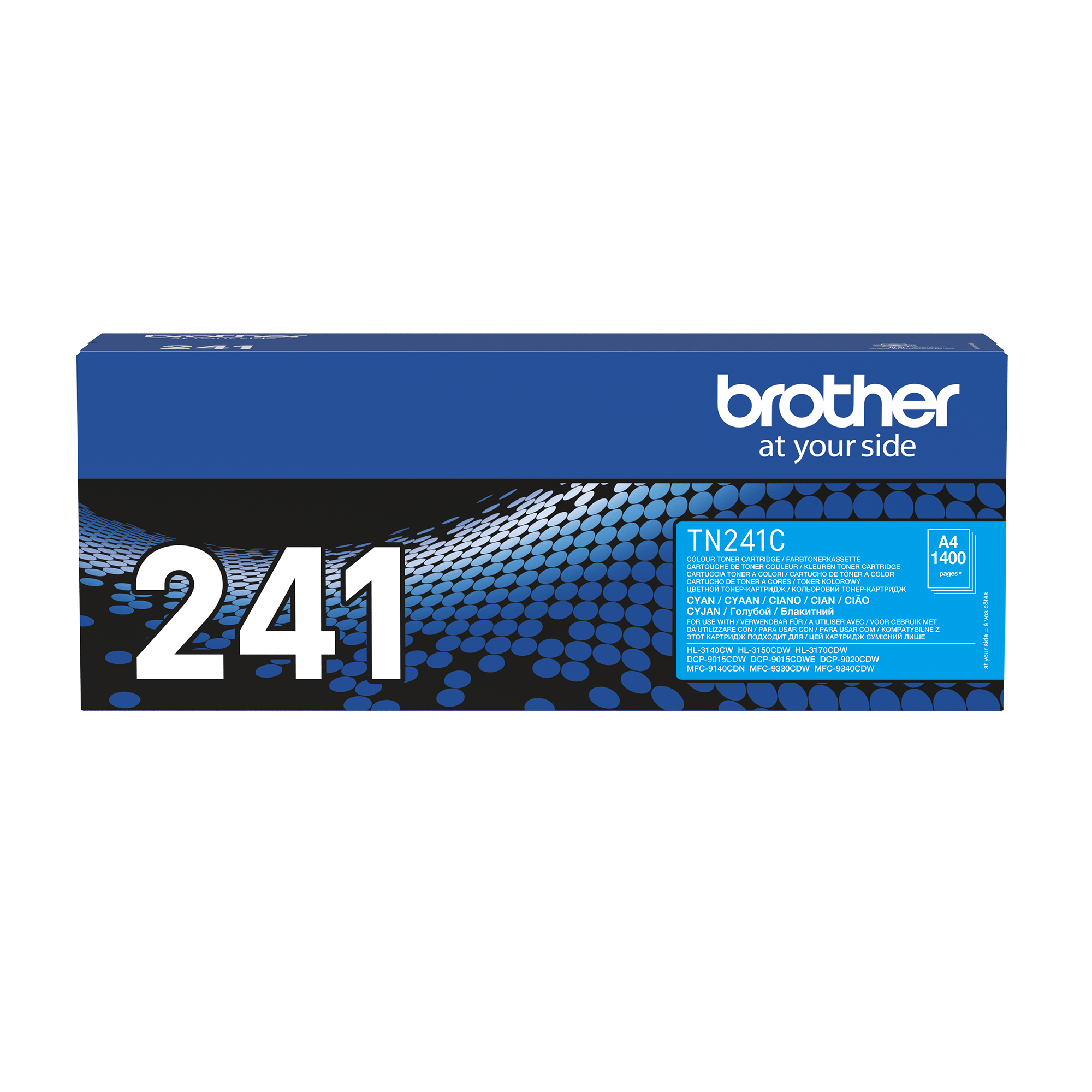 Genuine Brother TN-241C Toner Cartridge – Cyan