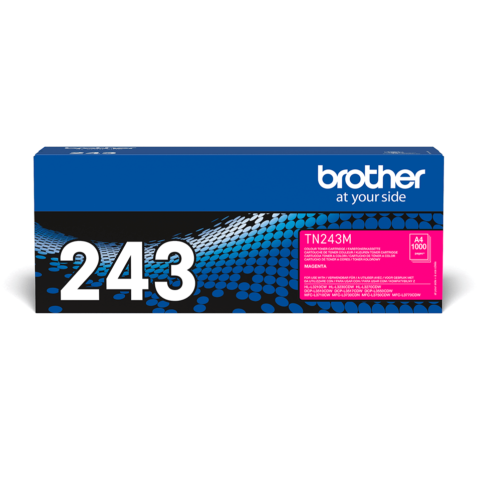 Genuine Brother TN-243M Toner Cartridge - Magenta