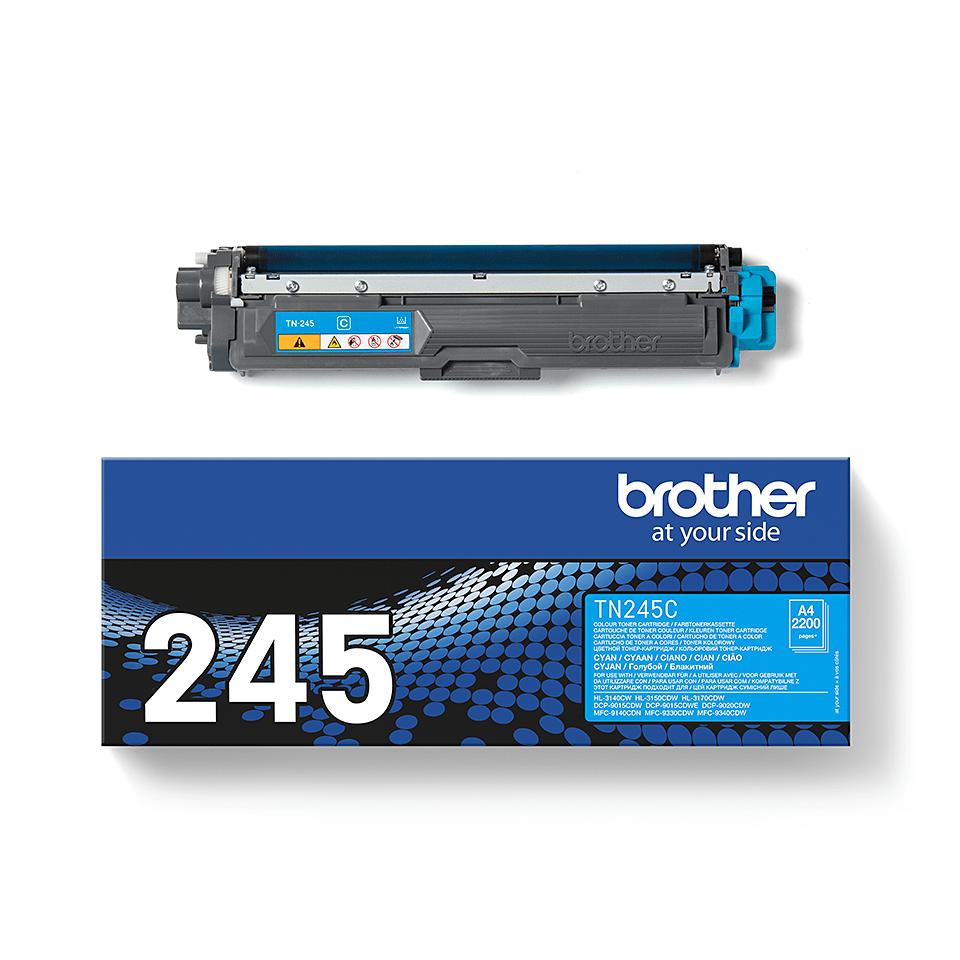 Genuine Brother TN-245C Toner Cartridge – Cyan 2