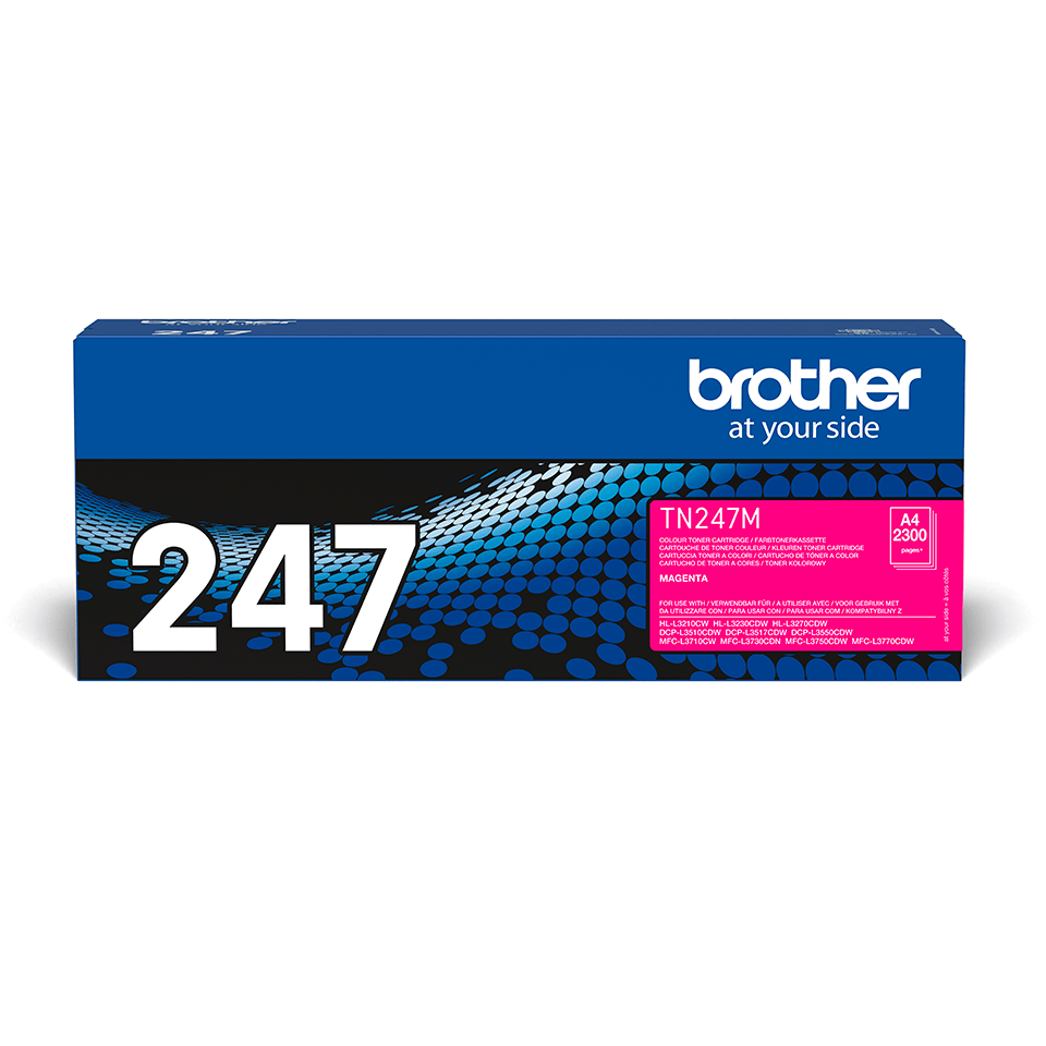 Genuine Brother TN-247M Toner Cartridge - Magenta