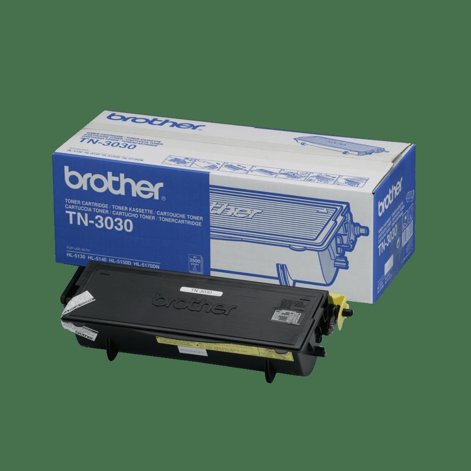 Genuine Brother TN-3030 High Yield Toner Cartridge – Black