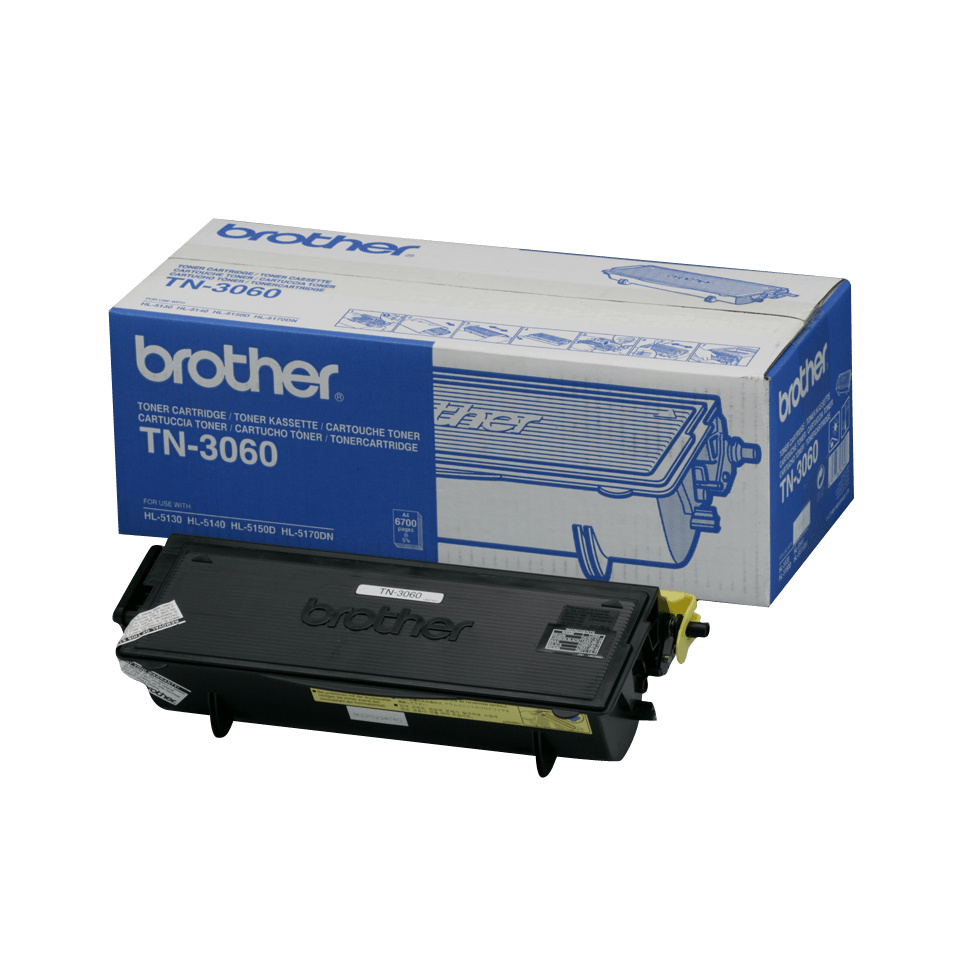 Genuine Brother TN-3060 High Yield Toner Cartridge – Black