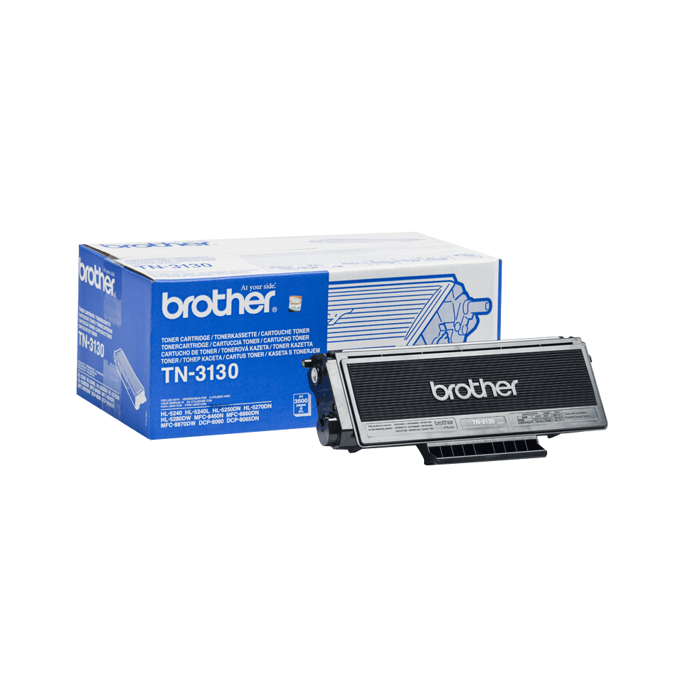 Genuine Brother TN-3130 High Yield Toner Cartridge – Black
