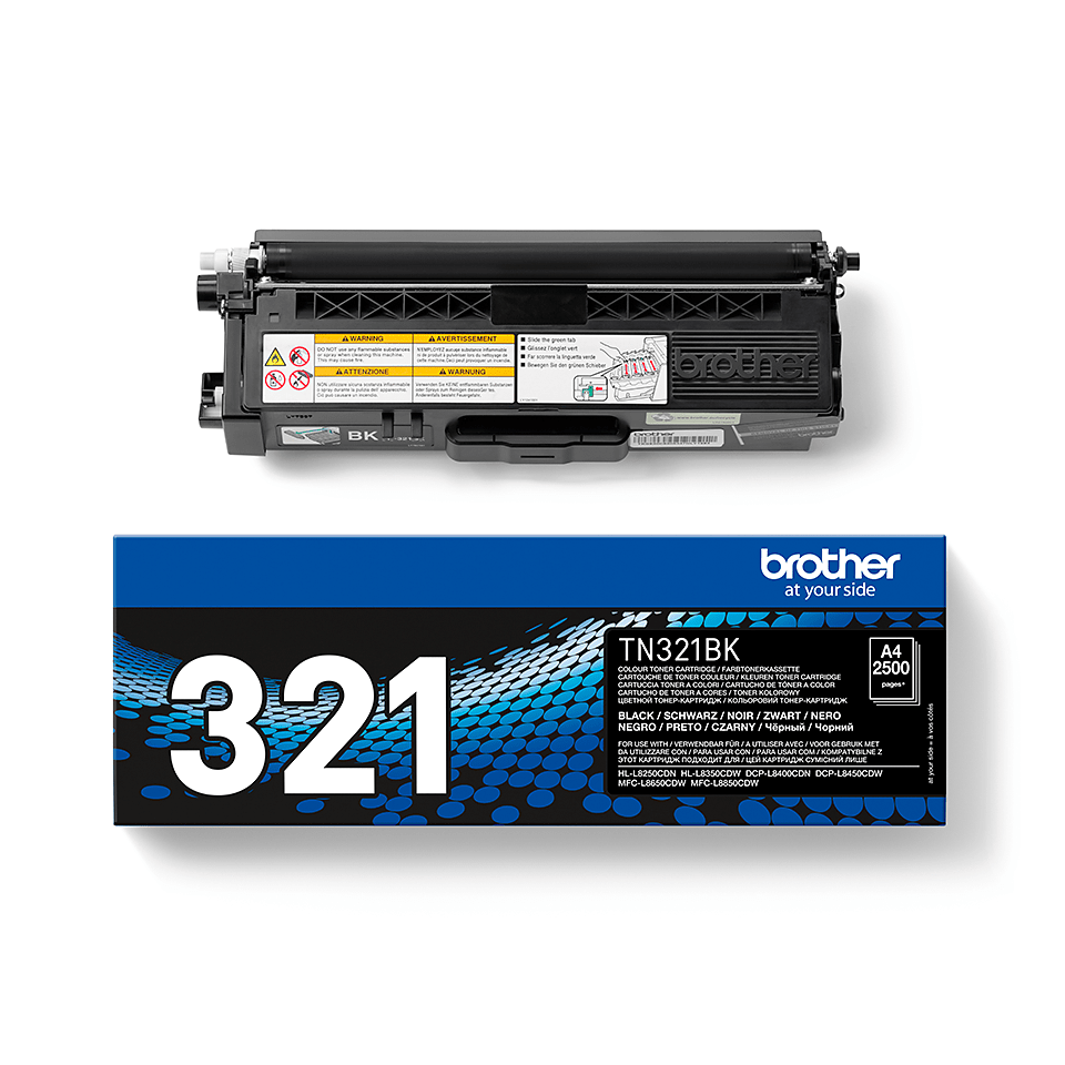 Genuine Brother TN-321BK Toner Cartridge – Black  2