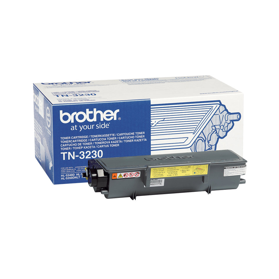 Genuine Brother TN-3230 Toner Cartridge – Black