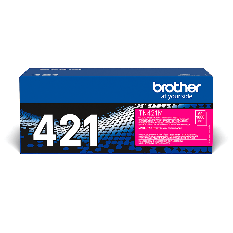 Genuine Brother TN-421M Toner Cartridge – Magenta