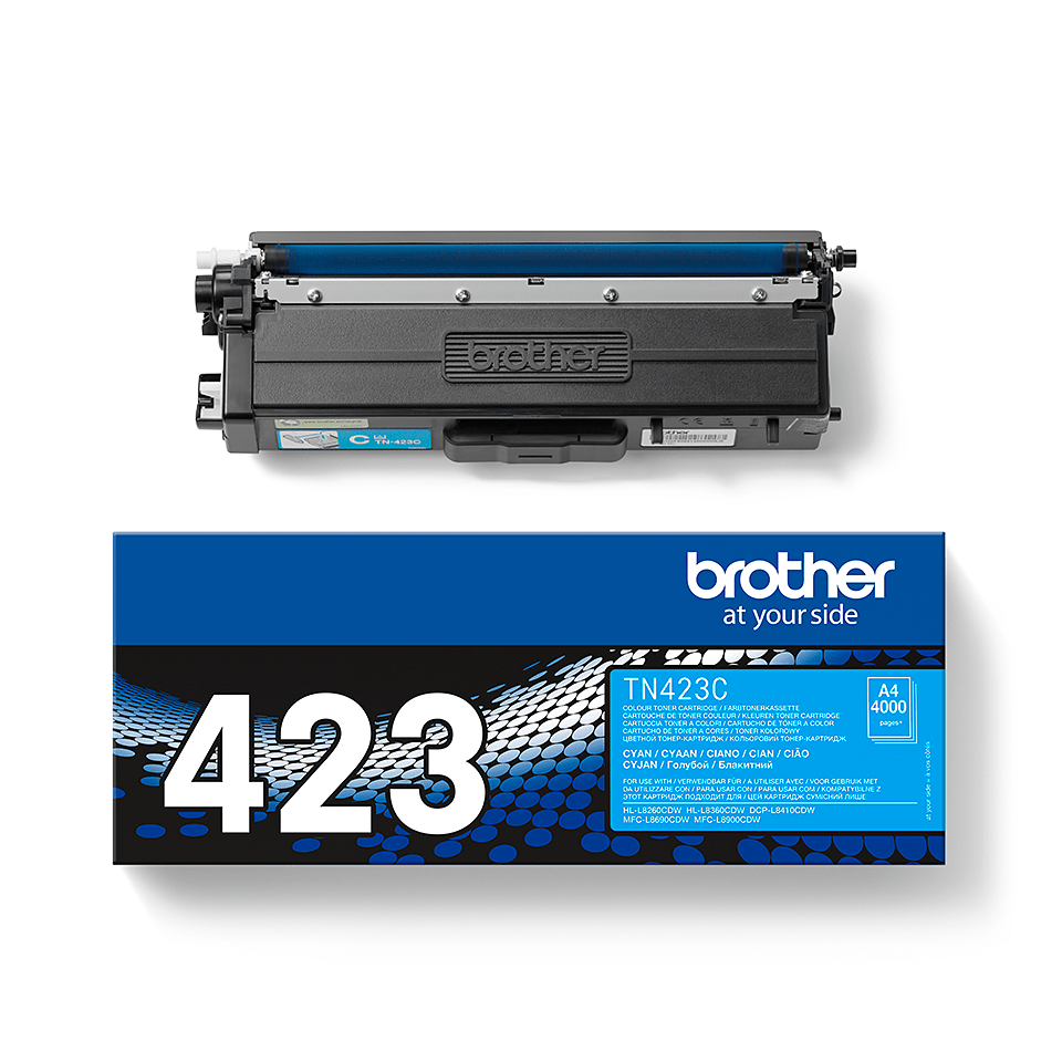 Brother TN-423C Toner Cartridge - Cyan 2