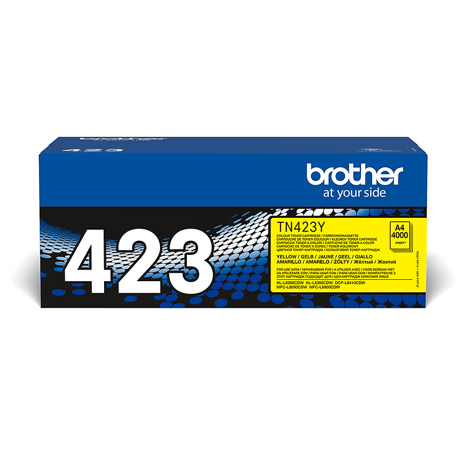 Brother TN-423Y Toner Cartridge - Yellow