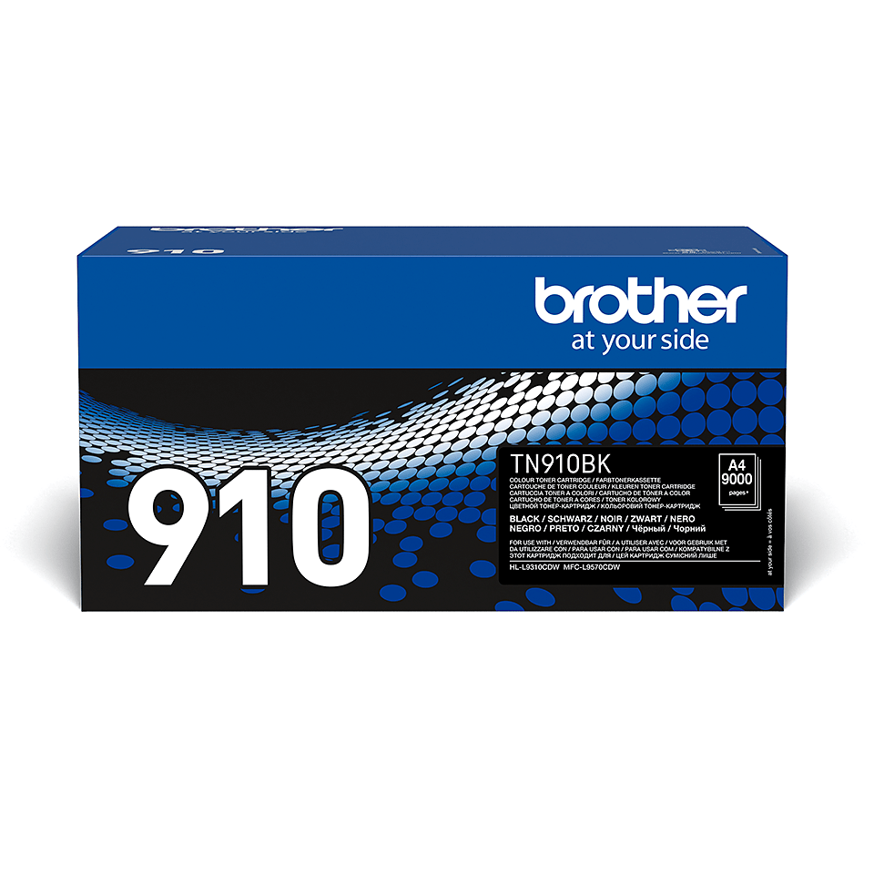 Genuine Brother TN-910BK Toner Cartridge – Black